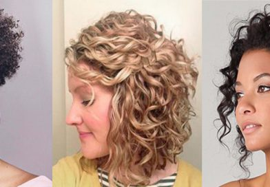 Penteados para cabelo cacheado curto