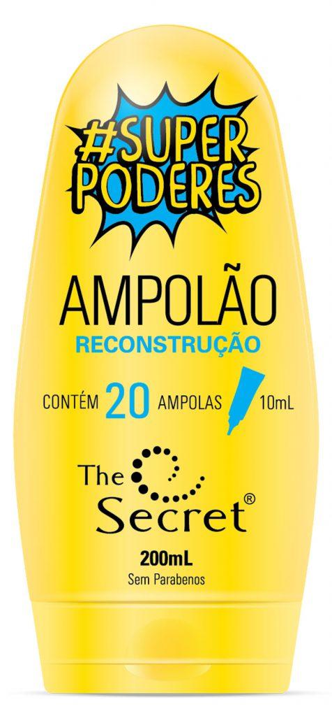 Ampolão Reconstrução com óleo de abacate